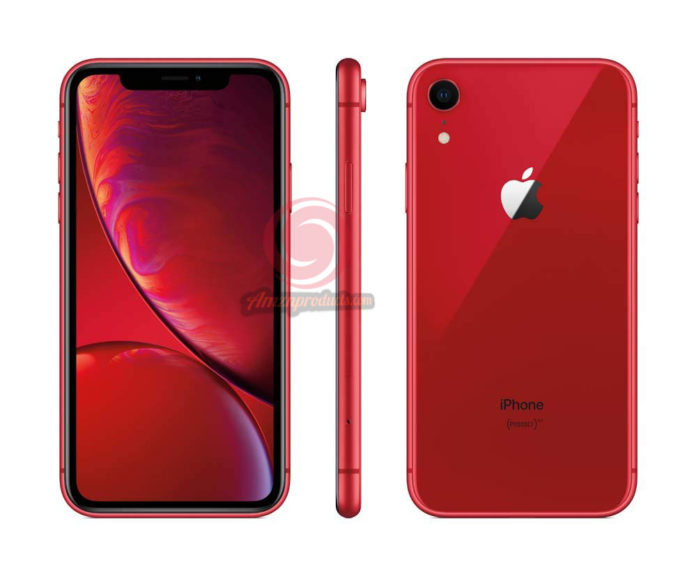 Apple iPhone XR, AT&T, 64GB - Red (Renewed)