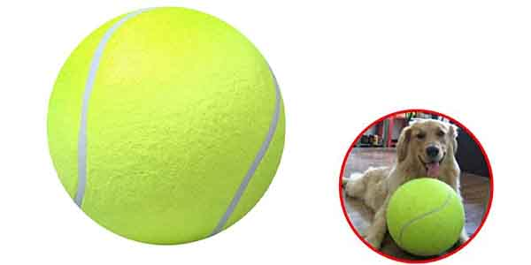 Extra large tennis ball for dogs