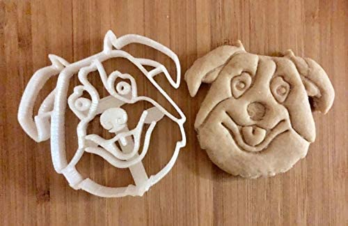 Australian Shepherd - Aussie - Cookie Cutter and Dog Treat Cutter - Dog Face