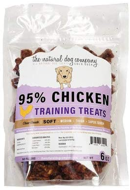 The Natural Dog Company All Natural Soft Meat Training Treats