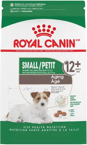 Royal Canin Small Aging 12+ Dry Dog Food for Senior Dogs