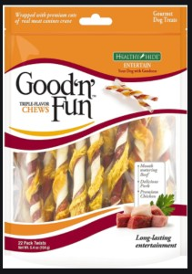 Good 'n' fun triple flavor twists reviews