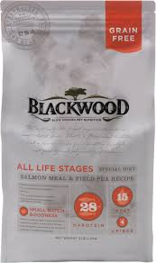 Best of three blackwood salmon dog food review