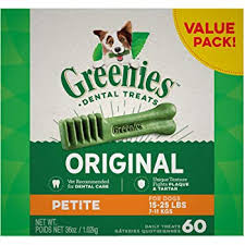 Greenies Blueberry Natural Dental Dog Treats, 12oz Packs