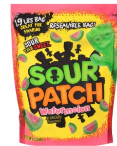 Sour patch kids watermelon big bag