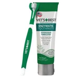 vet's best enzymatic dog toothpaste review