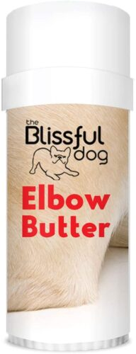 The Blissful Dog Elbow Butter Moisturizes Your Dog's Elbow Calluses - Dog Balm, 2.25-Ounce