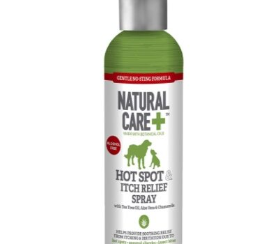 Natural care plus hot spot itch relief spray
