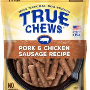 top chews pork and chicken sausage