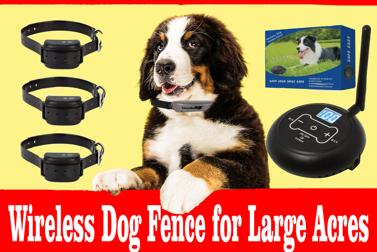 Wireless-dog-fence-for-large-acreage